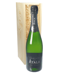 Ayala Champagne Gift in Wooden Box