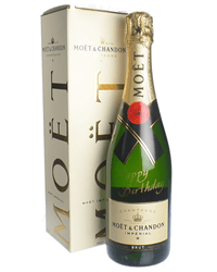 Happy Birthday Moet Champagne Gift Box