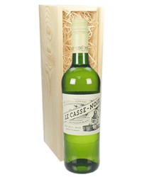 French Sauvignon Blanc White Wine Gift in Wooden Box