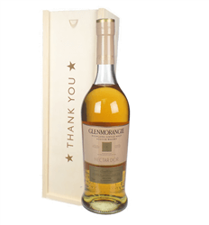 Glenmorangie Nectar Dor Malt Whisky Thank You Gift In Wooden Box