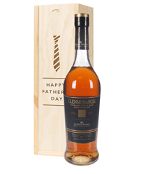 Glenmorangie Quinta Ruban Malt Whisky Fathers Day Gift In Wooden Box