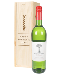 South African Chenin Blanc White Wine Fathers Day Gift In Wooden Box