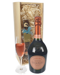 Laurent Perrier Rose Champagne and Chocolates Gift Set