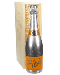 Veuve Clicquot Rich Champagne Gift in Wooden Box