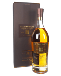 Glenmorangie 18 Year Old Single Malt Whisky Gift Box
