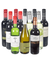 Red And White Mixed Wine Case 84
