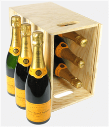 Veuve Clicquot Six Bottle Crate