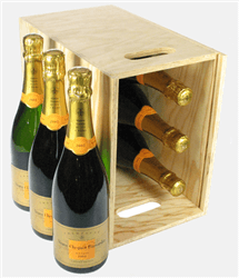 Veuve Clicquot Vintage Six Bottle Crate