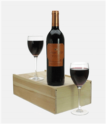Campo Viejo Reserva Wine and Glasses