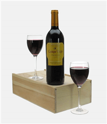 Campo Viejo Crianza Wine and Glasses
