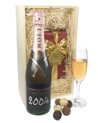 Moet & Chandon Vintage Champagne & Belgian Chocolates Gift Box