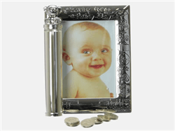 Rainy Day Christening Frame