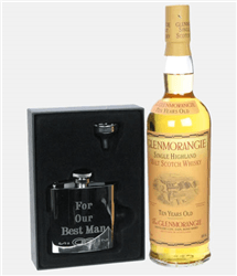Glenmorangie Best Man Hip Flask