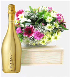 Prosecco And Flowers