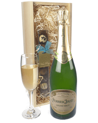 Perrier Jouet Champagne and Chocolates Gift Set