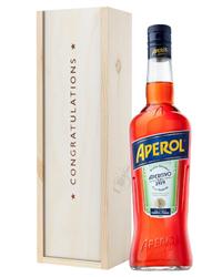 Aperol Spritz Congratulations Gift In Wooden Box