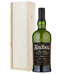 Ardbeg 10 Year Old Islay Single Malt Scotch Whisky Gift