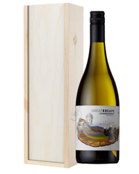Australian Chardonnay White Wine Gift in Wooden Box