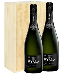 Ayala Two Bottle Champagne Gift in ...