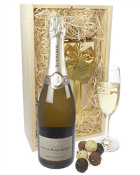 Louis Roederer Champagne & Belgian Chocolates Gift Box