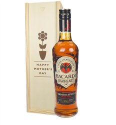 Bacardi Oakheart Rum Mothers Day Gift