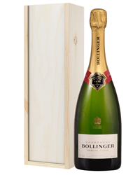 Bollinger Champagne Gift in Wooden ...