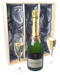 Bollinger Champagne Gift Set With F...