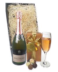 Bollinger Rose Champagne & Belgian ...