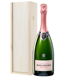Bollinger Rose Champagne Gift in Wo...