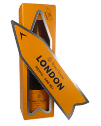 Veuve Clicquot Champagne Magnetic Yellow Arrow Gift Box