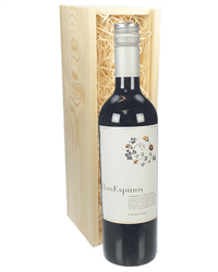 Cabernet Sauvignon Chilean Red Wine Gift in Wooden Box