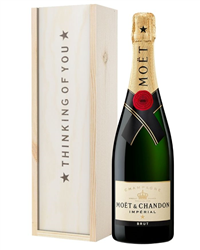 Champagne Thinking of You Gift - Moet Champagne