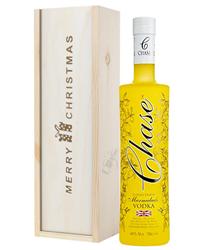 Chase Eureka Lemon Marmalade Vodka Christmas Gift In Wooden Box
