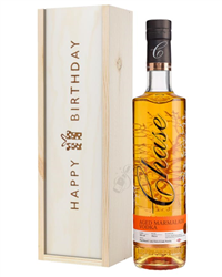 Chase Marmalade Vodka Birthday Gift In Wooden Box