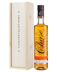 Chase Marmalade Vodka Congratulations Gift In Wooden Box