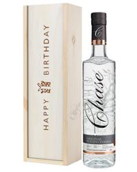 Chase Vodka Birthday Gift In Wooden Box