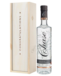 Chase Vodka Congratulations Gift In Wooden Box