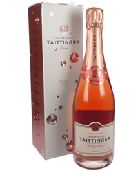 Taittinger Rose Champagne Gift Box