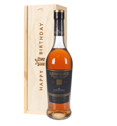 Glenmorangie Quinta Ruban Malt Whisky Birthday Gift In Wooden Box