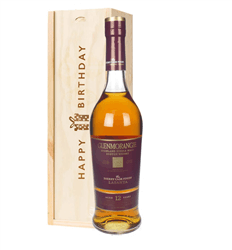Glenmorangie Lasanta Single Malt Whisky Birthday Gift In Wooden Box