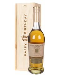 Glenmorangie Nectar Dor Malt Whisky Birthday Gift In Wooden Box