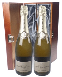 Louis Roederer Twin Luxury Gift