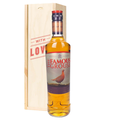 Famous Grouse Whisky Valentines Day Gift