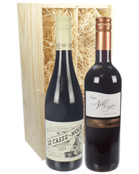 French And Italian Red Wine Gift