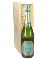 Villa Conchi Cava Sparkling Wine Gift in Wooden Box