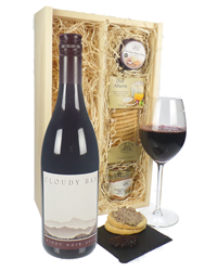 Cloudy Bay Pinot Noir Wine & Gourmet Food Gift Box
