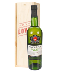 Taylors Chip Dry White Port Valentines Day Gift