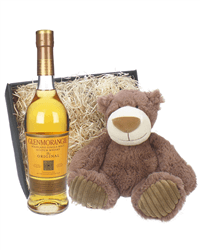 Glenmorangie Original and Teddy Bear Gift Basket