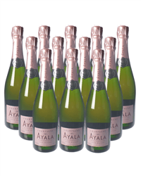 Ayala Rose Champagne Case
