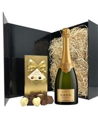Krug Champagne & Belgian Chocolates...
